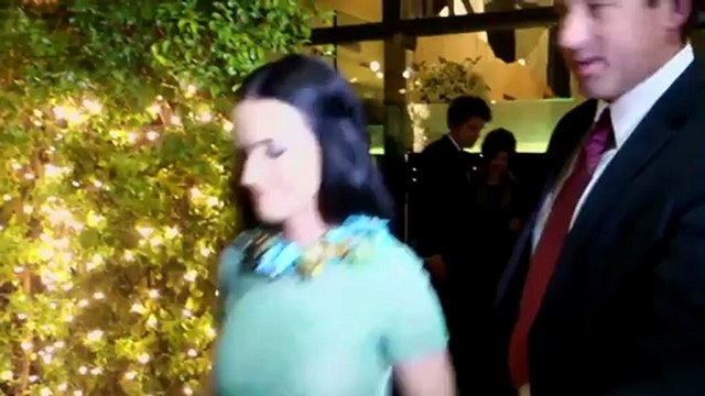 Katy Perry Looks Sheer-ly Beautiful at Post-Grammys Family Dinner With John Mayer