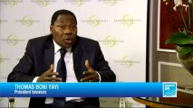 L'ENTRETIEN - Thomas Boni Yayi, Président béninois