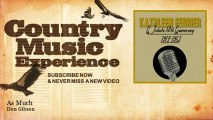 Don Gibson - As Much - Country Music Experience