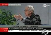 """P. Lombardi: il 27 ultima udienza Papa a piazza S.Pietro-VideoDoc. Il giorno prima delle dimissioni, """"saluto al Santo Padre"""""""