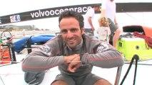 Volvo Ocean Race: Cammas satisfait sur le pont de Groupama 4