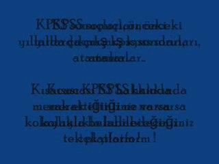 Kpss B