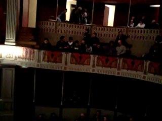 Théâtre de Gray (70) avant la représentation de Panique en salle des profs de Jérôme VUITTENEZ par la troupe de Velesmes