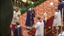 Benedict XVI holds last mass as Pope