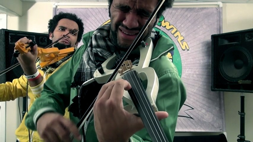 Crazy Twin Violin Dubstep - Brazilian 2wins