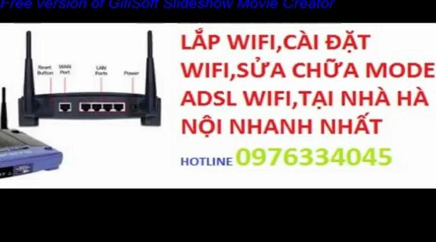 Lắp Đặt Wifi Cho Khách Sạn,Nhà Nghỉ,0976334045,Gía Rẻ Tại Nhà Hà Nội   Godialy.com