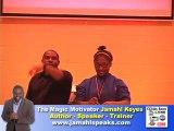 Jamahl Keyes-The Magic Motivator Youth Speaker.
