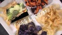 Chips de légumes d'antan