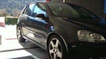 ::: o2programmation ::: Golf 1.9L TDI 105@141Cv Reprogrammation Moteur sur banc de puissance Marseille Gemenos PACA