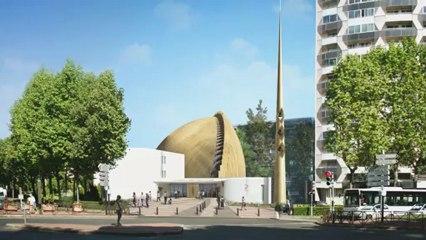 Visite virtuelle de la cathédrale déployée de Créteil - partie 1