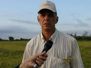 Joao Batista Amadeo Volkmann(Sentinela Do Sul, Brazil) in Montpellier -First international conference on organic rice production