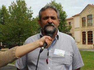 André De Oliveira, Porto Alegre, Brasil em Montpellier, França – Primeira conferência internacional ...rizícola biológica