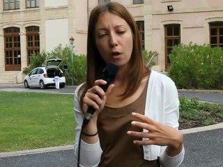 Témoignage de Silvia Pigozzi , Fondazione Cariplo - 1ère conférence int. sur les systèmes de production rizicole biologique