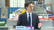 Ed Miliband announces 10p tax rate plan