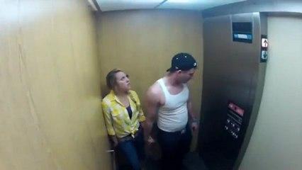 Apanhado da menina fantasma no elevador termina da pior forma