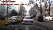 Accident : Piéton renversé par une voiture