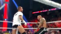 WWE Monday Night Raw - 11 February, 2013 - CM Punk stole The Rock's WWE Championship