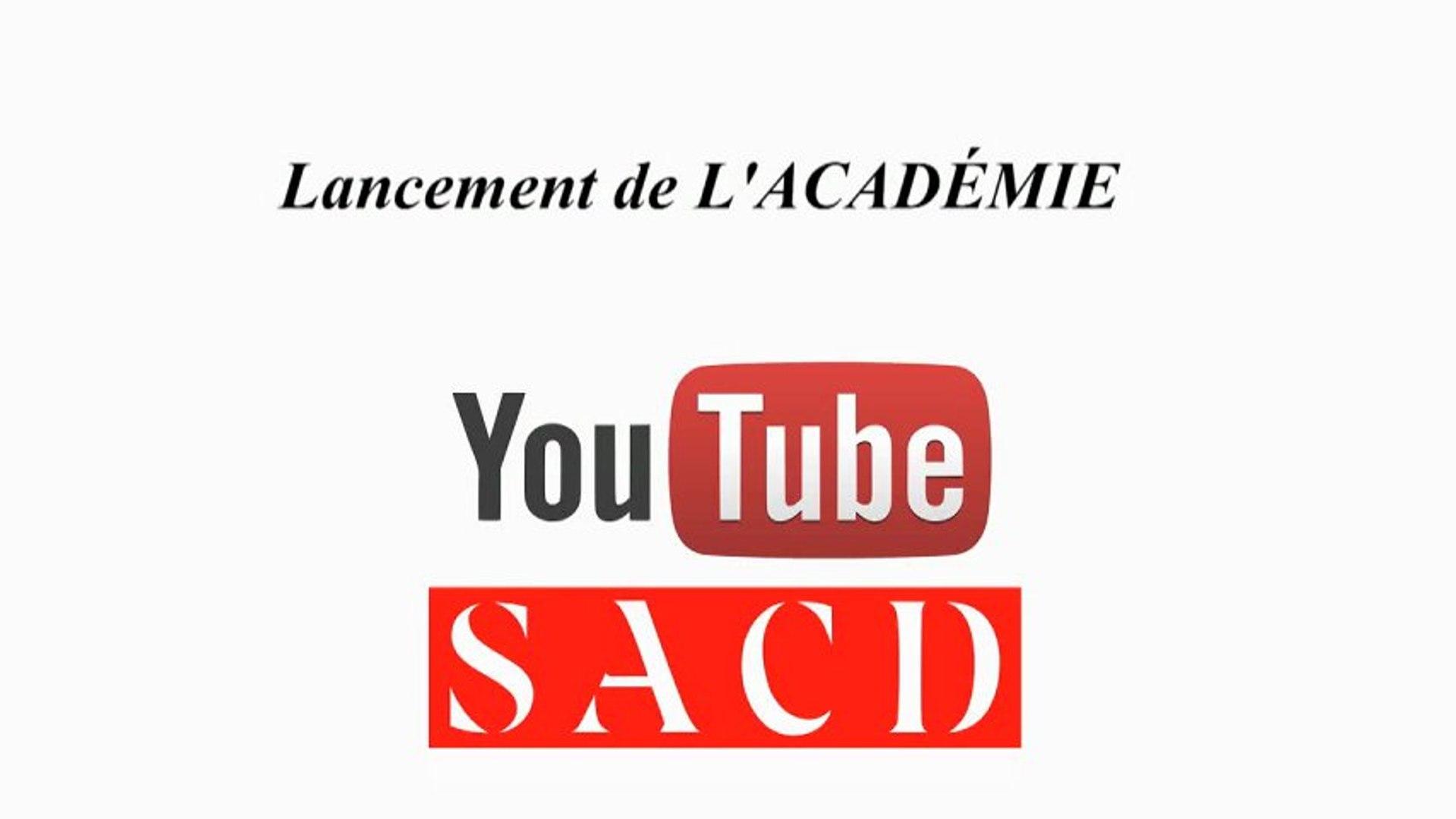Blog226 à la recontre de l'académie Youtube SACD