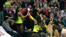 Peticion de mano en el CSKA-Panathinaikos