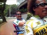 Pedal Matinal. Jorginho no Rio de Janeiro com Cezar Barbosa Bike.