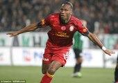 La première fracassante de Didier Drogba en Turquie !