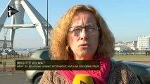 Nantes : Deuxième homme sur une deuxième grue