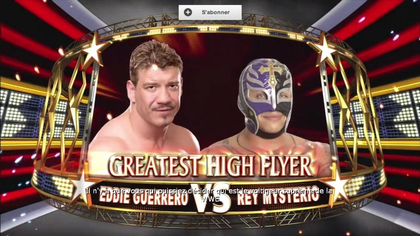 Fantasy Warfare WWE All Stars Guerrero/Mysterio by Bebette