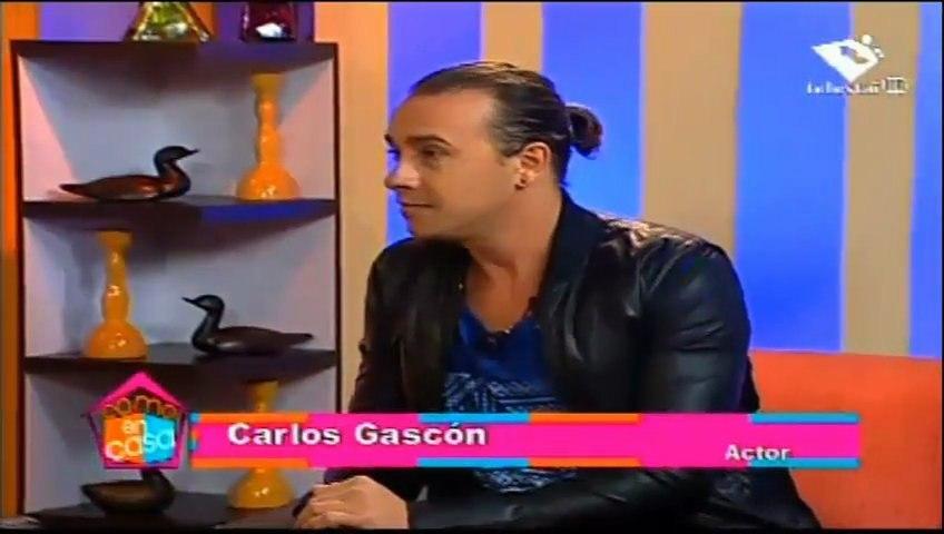 Carlos Gascón invitado al programa COMO EN CASA