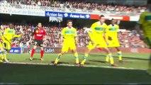 EA Guingamp (EAG) - FC Nantes (FCN) Le résumé du match (25ème journée) - saison 2012/2013