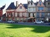 16°jour D'Agde à Brigneau en vélo du 3 au 18 juin 2009. Trois mois après avoir pris ma retraite je traversais toute la France à vélo, en solitaire...16° JOURS