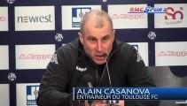 Ligue 1 / Les réactions d'A. Casanova et J-M. Furlan après Toulouse - Troyes - 16/02