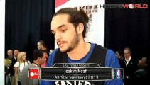 Joakim Noah - All-Star Weekend 2013