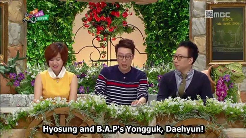 [ENG/HD] 130216 Yongguk, Daehyun, Hyosung Cut @ QCW