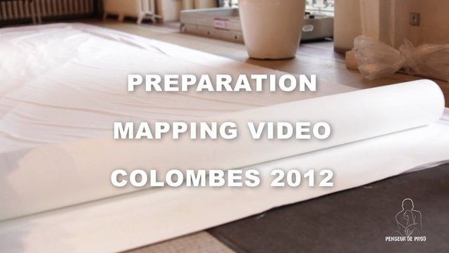 3D PROJECTION MAPPING VIDEO (MAKING OF) MAPPING VIDEO NOEL