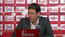 Conférence de presse LOSC Lille - Stade Rennais FC : Rudi GARCIA (LOSC) - Frédéric  ANTONETTI (SRFC) - saison 2012/2013