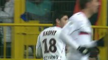 But Neal MAUPAY (61ème) - SC Bastia - OGC Nice (0-1) - saison 2012/2013