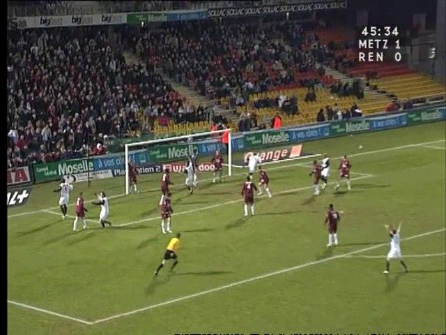 12/03/05 : Alexander Frei (45'+1) : Metz - Rennes (1-1)