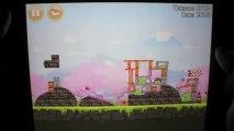 Angry Birds Seasons Level 1-15 3-Star Cherry Blossom Walkthrough iPhone/iPod/iPad 103410