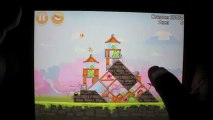 Angry Birds Seasons Cherry Blossom Level 1-2 3-Star Walkthrough iPhone/iPod/iPad 99380