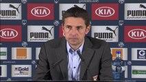 Conférence de presse Girondins de Bordeaux - Olympique Lyonnais : Francis GILLOT (FCGB) - Rémi GARDE (OL) - saison 2012/2013