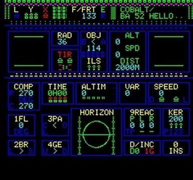 "ORIC ""Mission Delta"" 1: take off, patrol and alert"