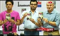 Manoj Bajpai, Anupam Kher, Neeraj Pandey at the book launch of Special Chabbis
