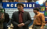 Syed Maqsood Ali(NCE)talking with Jeevey Pakistan at 27th International Book Fair Expo Lahore
