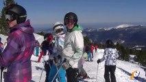 Le ski club audois vous propose un stage à la Plagne dans les Alpes en avril.