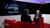 JEAN-MARIE COLOMBANI INVITE, François Bayrou, Président du Modem