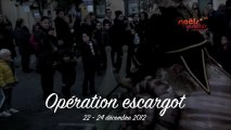 Noëls Insolites de Carpentras 2012 - Operation escargot
