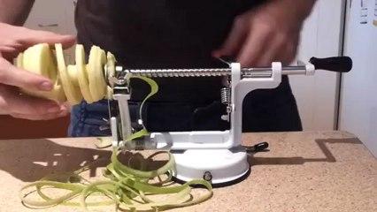 A máquina de descascar maças que gostaria de ter