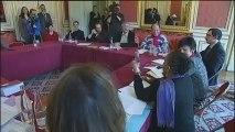 Nantes : le père qui réclame la garde son fils est descendu de la grue