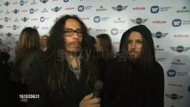 Munky and Head interviewed at Warner Music Group GRAMMY Celebration