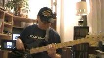 Mijn verlosser leeft opwekking 554 gospel funk basscover Bob Roha